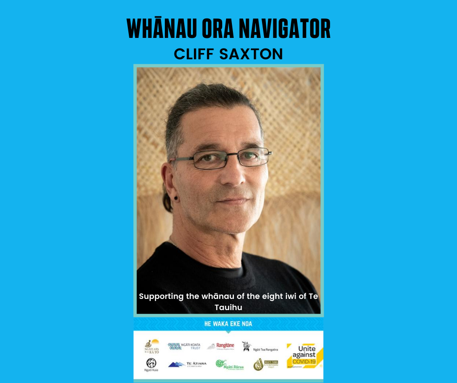 Cliff Saxton – Supporting whānau through Covid-19