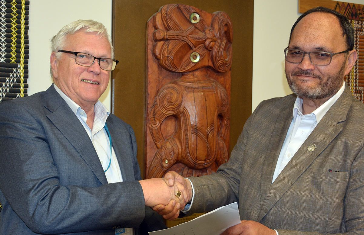 Agreement strengthens iwi education, business links