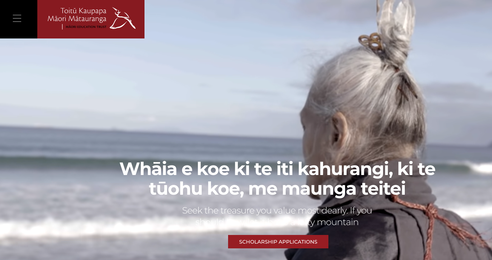 Open: Māori Education Trust Scholarship Programme